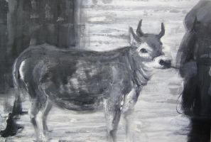 Cow 5 by hollrock