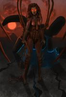 Kerrigan, the Queen of Blades by AlderMoor