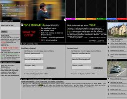 A layout for a loan broker com by awholeuniverse