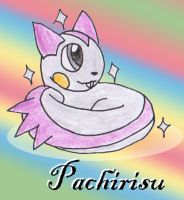 Day 13: Pachirisu by Operia