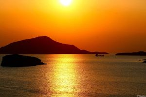 Cape Sounion Sunset by MacroMagnificent