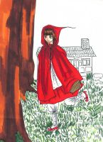 Little Red Riding Hood by narutine
