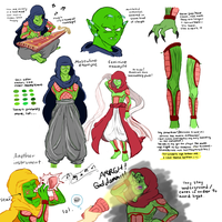Concept- Dark Namekians by hg-project