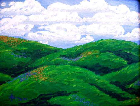 California Hills in Spring by sioned42