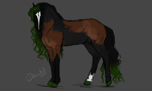 Design Auction: Chimera green by Frozenstallion
