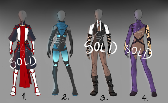 OUTFIT ADOPTS [CLOSED] by lealin