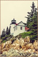 Bass Harbor Head Light Lighthouse by JDM4CHRIST