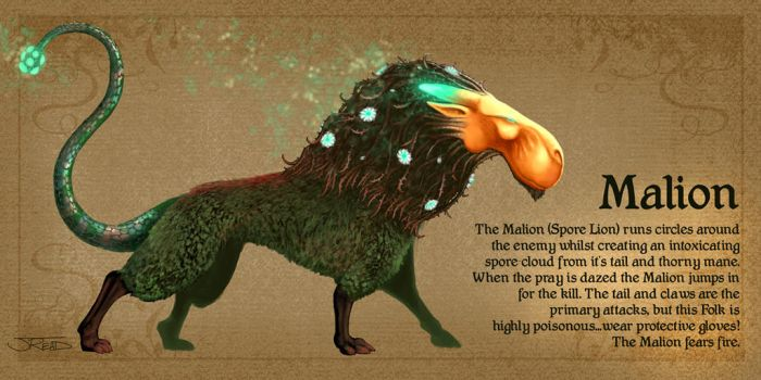 spore lion by RepeatingArms