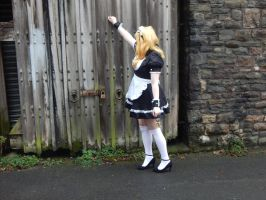 Fairy Tail Lucy - Knock Knock by MochiFairy