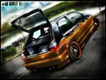 vMod - VW Golf II by sfdesignz