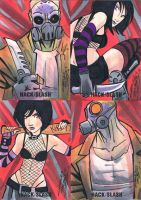 Hack/Slash sketch cards set 3 by KidNotorious