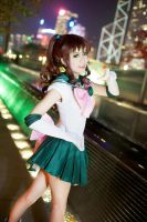 Sailor Jupiter cosplay by sosochan1314
