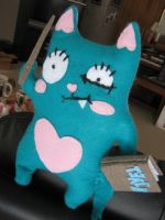 Kitty Teacher Plush by greensprout