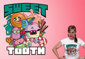 Sweet Tooth - T-Shirt by Naomi89