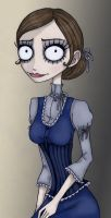 Non-corpse Emily XD by Zombie-Pip