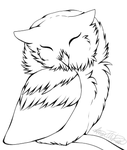 Art Challenge - Owl by Anime-The-Dino