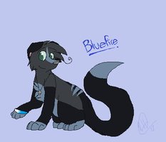 New Design :D by x--Bluefire--x