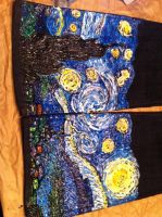Starry Night Jeans by JCRO17