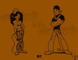Artist vs Artist: MC by WarBrown