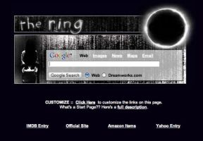 The Ring Startpage by AwesomeStart