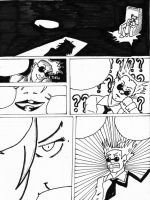 un-named one shot comic page 1 by Isdailic
