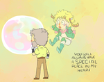 JoJo, Giant Bubble by ALittleSeahorse
