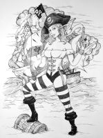 Dirty Pirate Hooker by NateTheKnife