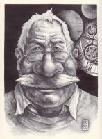 The Clockmaker (Ballpoint) by Rafik Emil H by rafikemil