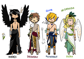 Greek Mythology-stuck by Pharos-Chan