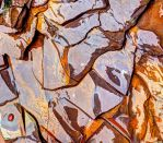 A Stream Bed Pretending to be a Cubist Painting #2 by AugenStudios