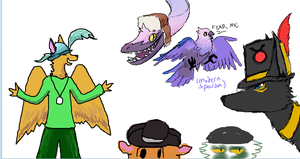 Iscribble Silliness 1 by Cloudbat