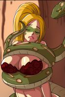 (Request) Snake Peril Squeeze 2 by swiftbladez