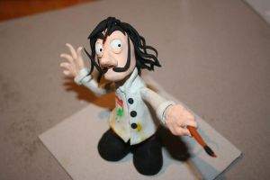 Clay Dali by SirBedevere