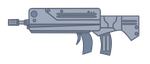 MLP FIM - Lost Equestria: assault rifle by MetaDragonArt