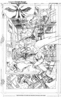 Batman sample page 02 rough pencils by geraldohsborges