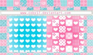 Heart Brushes for Paint tool SAI by Coby17