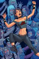 HackSlash issue 3 cover by ColtNoble