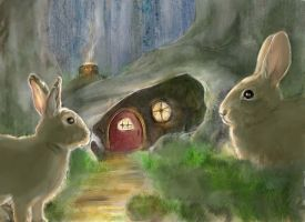Bunny Hut by BartBar