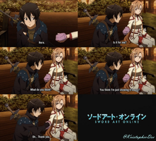 Sword Art Online (Funny Scene) by KristopherDee