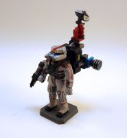 Kitted Commando Full Obverse by NicholasKay