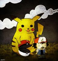 I choose you ash by berkozturk