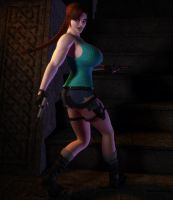 Pale Lara Croft by willdial