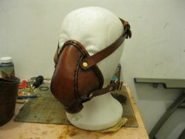Leather Respirator by passbyguy