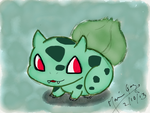 Bulbasaur by Cazper016