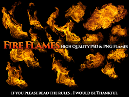 Fire Flames HD PSD AND PNG For Free by Gilgamesh-Art-IQ