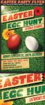 Easter Egg Hunt Flyer Template 2 by Hotpindesigns