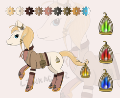 Steampunk Pony OTA [CLOSED] by Linkage92