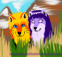 Who's There (NaruHina) by PurpleAlphaWolf