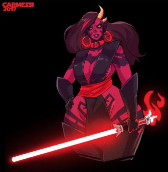 Sith Lord Gala by Carmessi