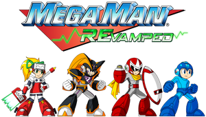 Mega Man REvamped Logo by Availation